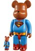 Superman Returns Be@rbrick 100% & 400% Set
