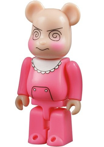 Rompers - Artist Be@rbrick Series 12 figure by Moyoco Anno, produced by Medicom Toy. Front view.