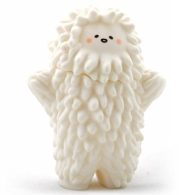 Baby Treeson figure by Bubi Au Yeung, produced by Crazylabel. Front view.