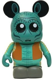 Greedo figure by Casey Jones, produced by Disney. Front view.
