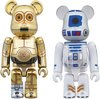 C3PO & R2D2 100% Be@rbrick Set