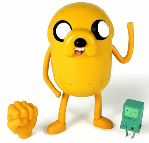 "Adventure Time: 5"" Stretchy Jake (with Beemo)"