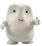 Adipose figure by Matt Jones (Lunartik), produced by Titan Merchandise. Front view.