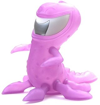 Tentikill - The Sea Monster - Newborn figure by Steve Forde, produced by Go Hero. Front view.