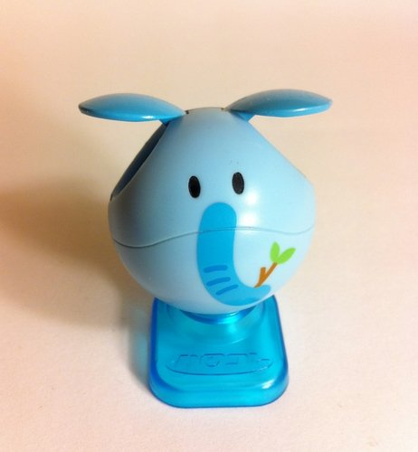 Haro - (animal) Elephant  figure, produced by Bandai. Front view.