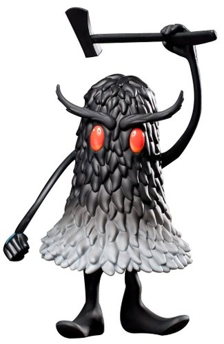 The Deek figure by Jeff Soto, produced by Kidrobot. Front view.