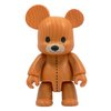 Woodgrain Teddy Bear - Light Version