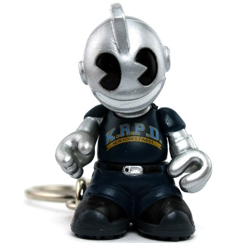 KRPD figure, produced by Kidrobot. Front view.