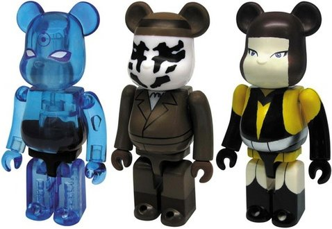 Watchmen Be@rbrick 100% - Set B figure, produced by Medicom Toy. Front view.