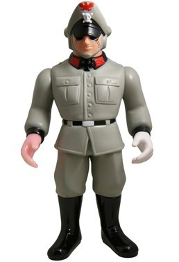 Yamashiroya x Five Star Toy Brocken Jr. - Red Rain of Berlin ver. figure, produced by Five Star Toy. Front view.