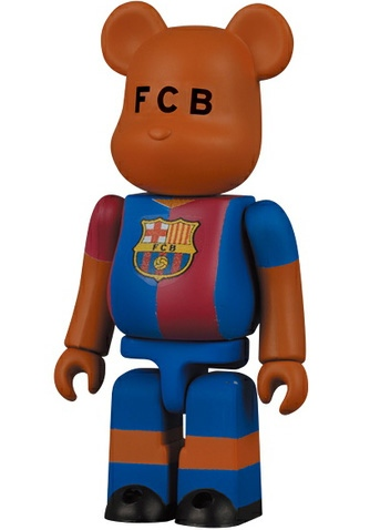 F.C. Barcelona, Home - Be@rbrick 100%
