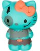 Hello Kitty Horror Mystery Minis - Turquoise Zombie