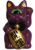Mini Fortune Cat - Purple