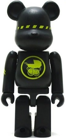 Futura - Artist Be@rbrick Series 5 figure by Futura, produced by Medicom Toy. Front view.