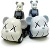 KAWS 50% ChoroQ Be@rbrick Set
