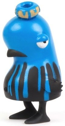 Sluggy P - Blue figure by Nevercrew. Front view.