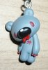 Gloomy Bear Zipper Pull (Bloody Instinctive)