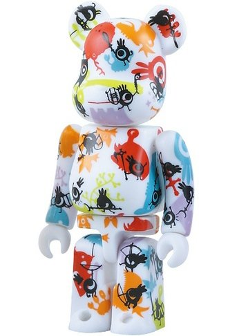 Patapon - Pattern Be@rbrick Series 17 figure by Rolito, produced by Medicom Toy. Front view.