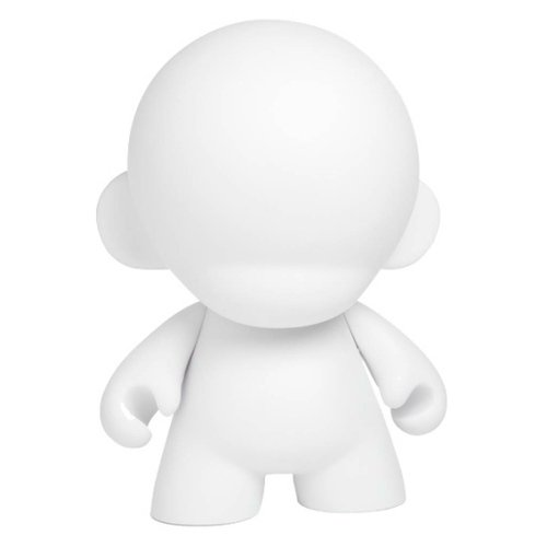 Munnyworld Munny DIY figure, produced by Kidrobot. Front view.
