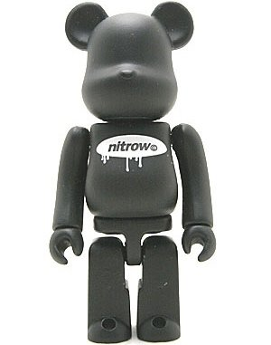 Nitrow - Secret Be@rbrick Series 8 figure by Nitrow, produced by Medicom Toy. Front view.