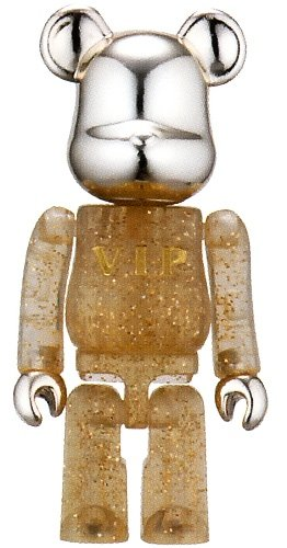 VIP - Secret Be@rbrick Series 4 figure, produced by Medicom Toy. Front view.