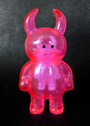 Uamou - Clear Pink / Micro Clear White inside