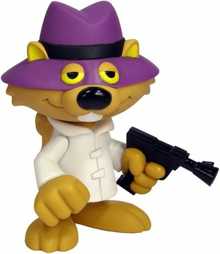 Secret Squirrel - Funko Force figure by Brian Mariotti, produced by Funko. Front view.