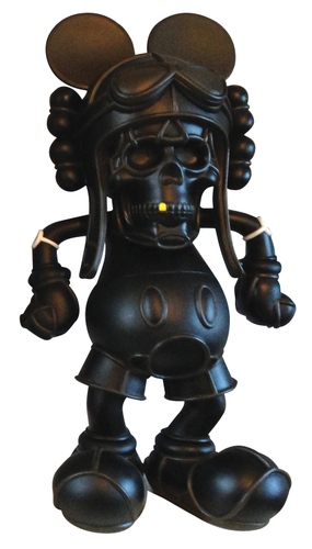 Deathshead - 3D Retro Exclusive (Black on Black)
