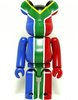 South Africa - Flag Be@rbrick Series 20