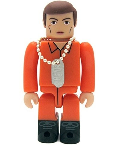 Action Pilot Kubrick 100% figure by Hasbro, produced by Medicom Toy. Front view.