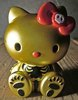 Hello Kitty Skull - Gold