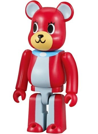 Dreaming Be@r Dog #1 - Artist Be@rbrick Series 10 figure by Play Set Products, produced by Medicom Toy. Front view.
