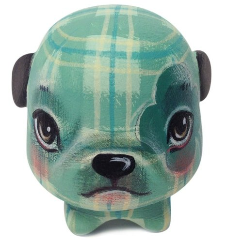 Lucky Dog No. 14 figure by 64 Colors. Front view.
