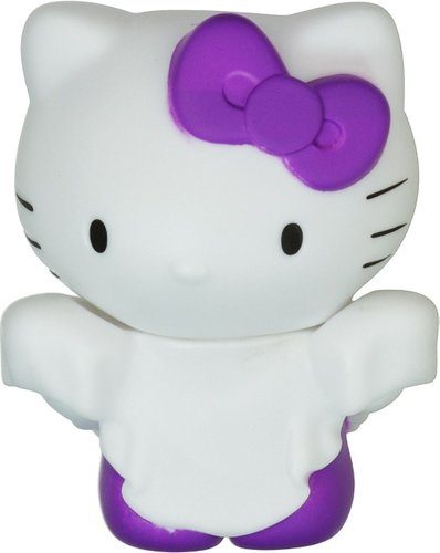 Hello Kitty Horror Mystery Minis - White Ghost figure by Sanrio, produced by Funko. Front view.