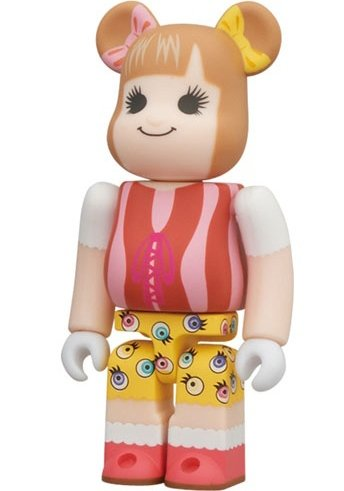 Kyary Pamyu Pamyu, PonPonPon - Artist Be@rbrick Series 24 figure by Rune Naito, produced by Medicom Toy. Front view.
