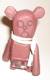 Crazy Children Bear figure by Michael Lau, produced by Crazysmiles. Front view.