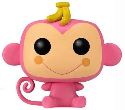 Chi Chai Monchan figure by Sanrio, produced by Funko. Front view.