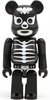 Combatant Shocker Be@rbrick 100% - Bone