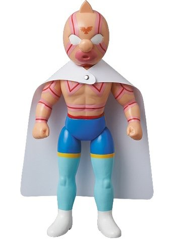 Kinnikuman Super Phoenix figure, produced by Five Star Toy. Front view.