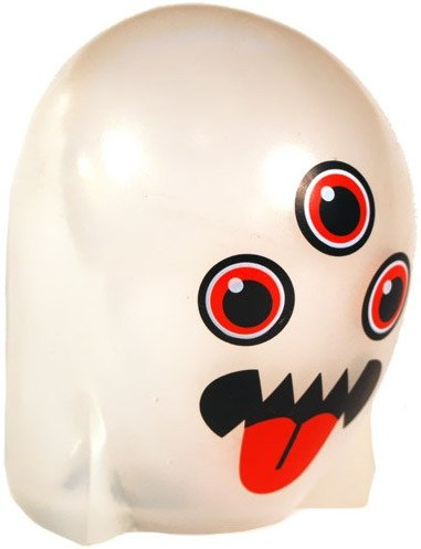 Ghost figure by Ferg, produced by Jamungo. Front view.
