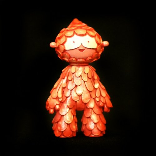 Muju Coral Guardian No.17 figure by Mr Muju, produced by Muju World. Front view.