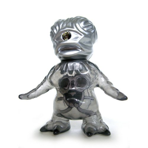 Nougaki - Grumble Toy Exclusive figure by Naoki Koiwa, produced by Cronic. Front view.