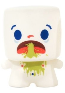 Blow Chunks figure by 64 Colors, produced by Squibbles Ink & Rotofugi. Front view.