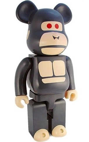 Little Friend Be@rbrick 400% figure by X-Large, produced by Medicom Toy. Front view.