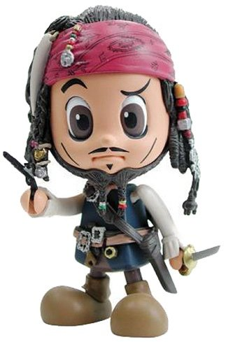 Jack Sparrow (Without Jacket) figure, produced by Hot Toys. Front view.