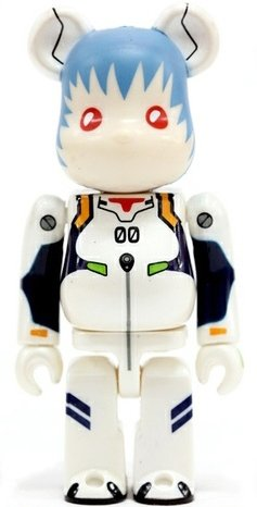 Rei Ayanami - SF Be@rbrick Series 13 figure by Neon Genesis Evangelion, produced by Medicom Toy. Front view.