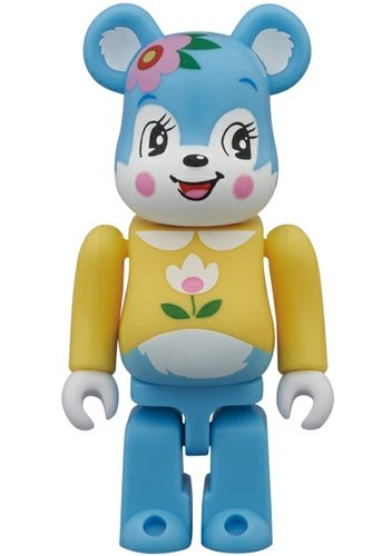 Cute Be@rbrick Series 26 figure, produced by Medicom Toy. Front view.