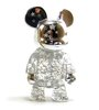 "2.5"" Qee Silver Shining Star Bear"