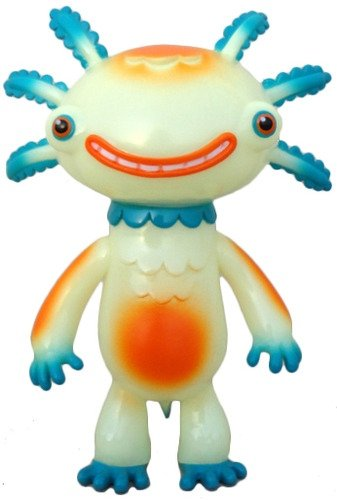 Wooper Looper - GID, SDCC 2013 figure by Gary Ham, produced by Super Ham Designs. Front view.