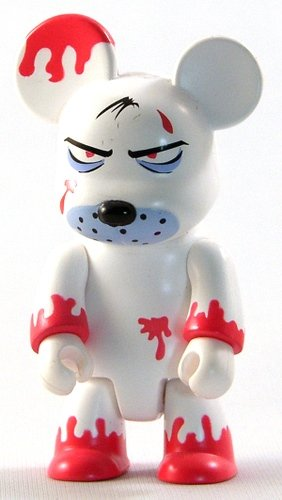 Jack Smoke Free figure by Frank Kozik, produced by Toy2R. Front view.